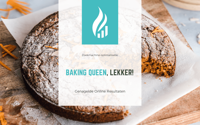 Baking Queen, lekker!