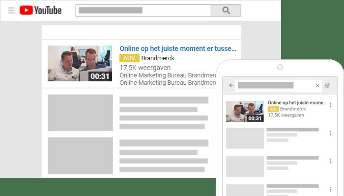 Advertenties met video discovery